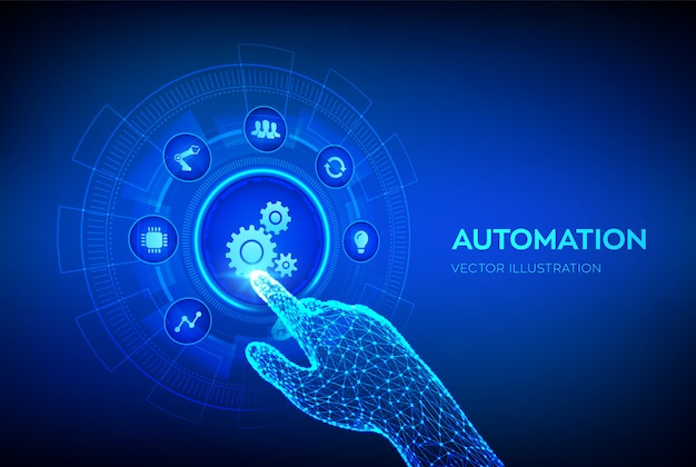 Automation software background