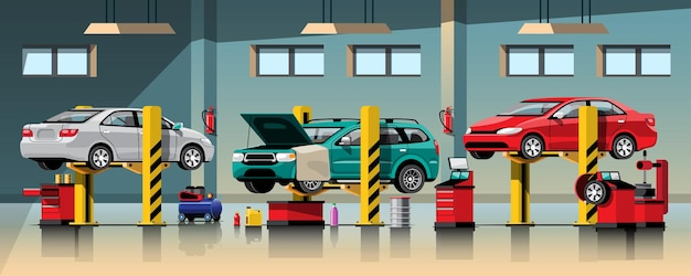 Automobile repair and maintenance service