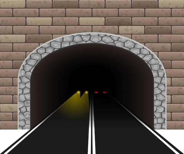 Automobile tunnel