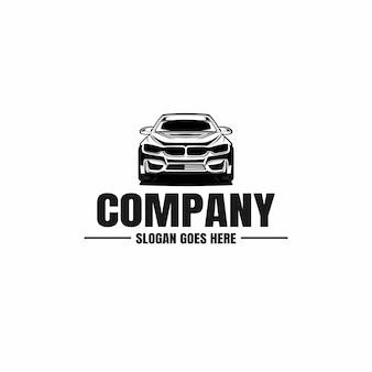 Шаблон логотипа автомобильного автомобиля