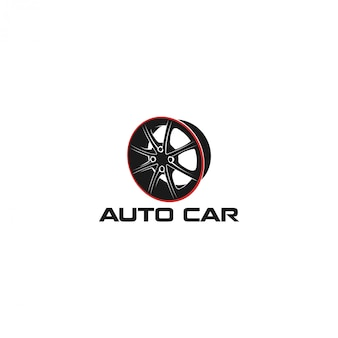 Automotive car workshop logo
