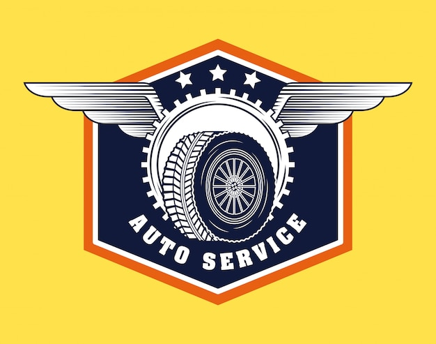 Automotive industry logo