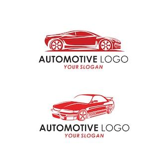 Automotive logo concept Premium Vector
