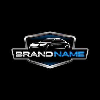Шаблон автомобильного логотипа