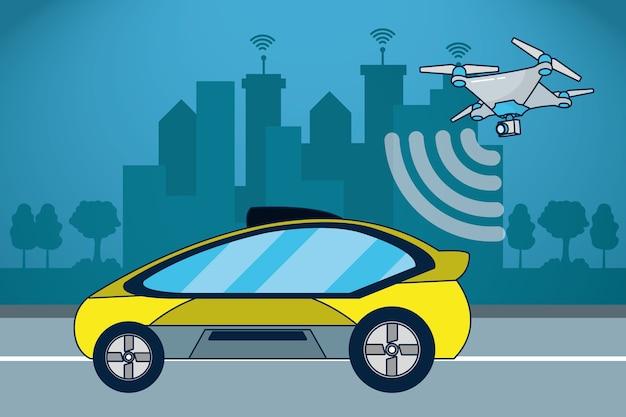 Автономная техника автомобиля