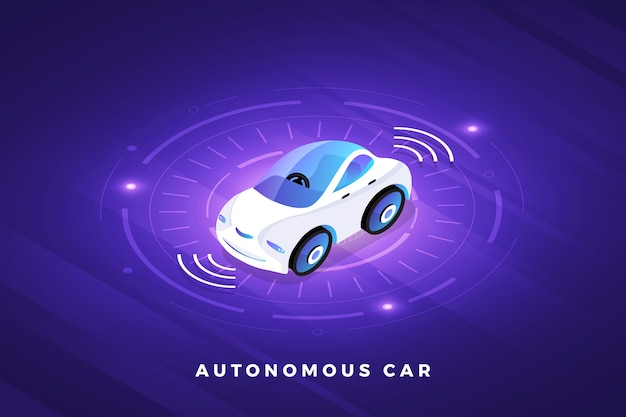 自律自動運転自動車センサースマートカー無人車両技術