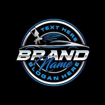 Шаблон логотипа autopaint