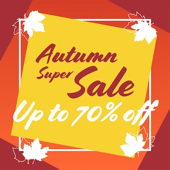 Autum super sale