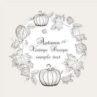Design autunno sfondo