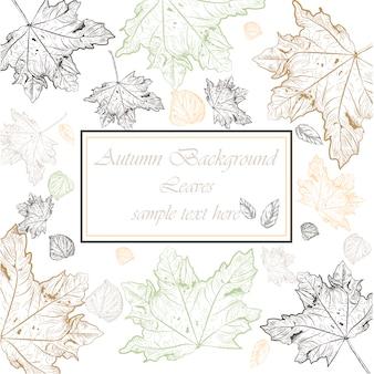 Autumn background design