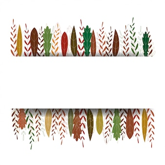 Autumn background with colourful leaves