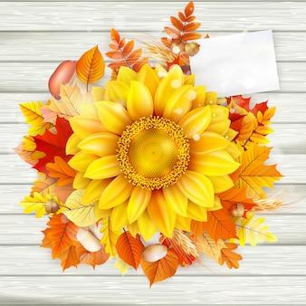 Autumn concept background.