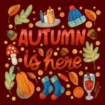 Autumn design background