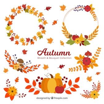 秋の要素コレクション