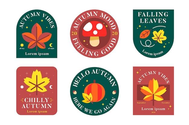 Autumn label collection