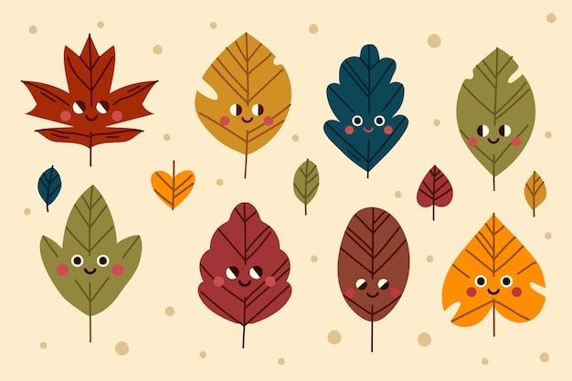Коллекция осенних листьев