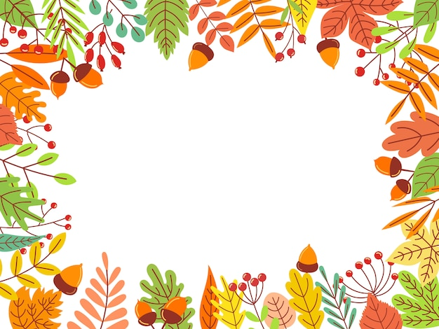 Осенние листья кадр. иллюстрация опавшие желтые листья, листья сентября и осенний сад листья
