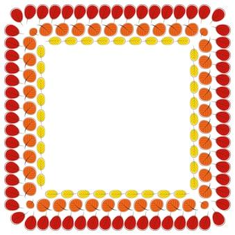紅葉シームレスパターン背景ベクトルイラストeps10