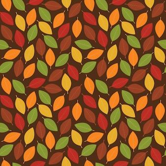 단풍 원활한 패턴