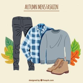 Autumn male clothing