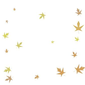 Осенний кленовый конфетти простой осенний фон