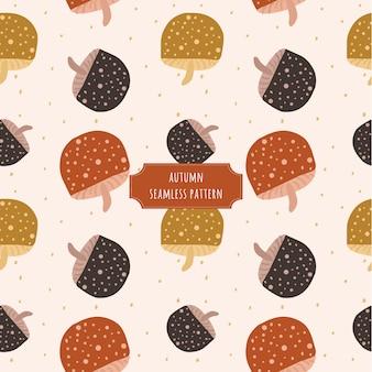 가 버섯 원활한 패턴