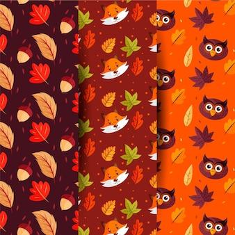 Осенняя коллекция узоров