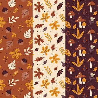 Autumn pattern collection