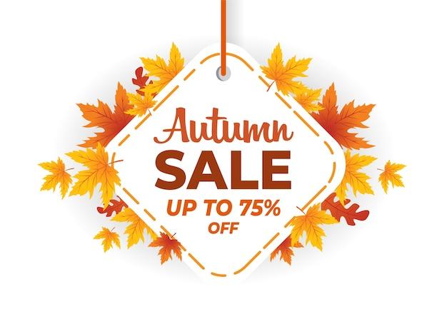 Autumn sale banner