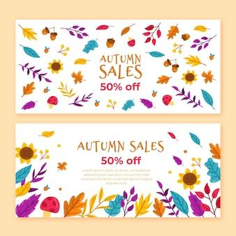 Осенняя распродажа баннеров