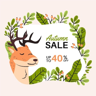 Autumn sale draw