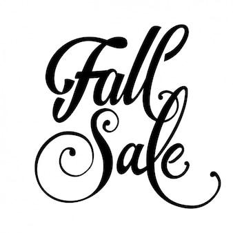 Осенний дизайн фона продаж