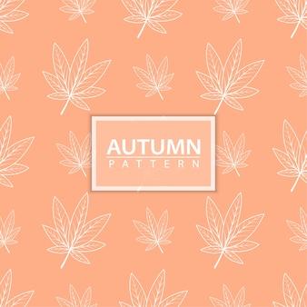 Осенний бесшовный узор