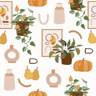 가을 원활한 패턴