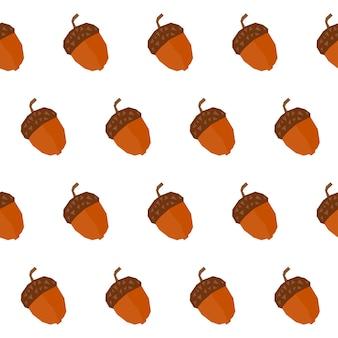 Autumn time seamless pattern background. handmade autumn swatch for design autumn card, school party invitation, album, shop sale advertising, t shirt, textile fabric, bag print etc Premium Vector