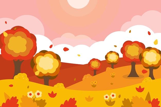 Autumn wallpaper theme