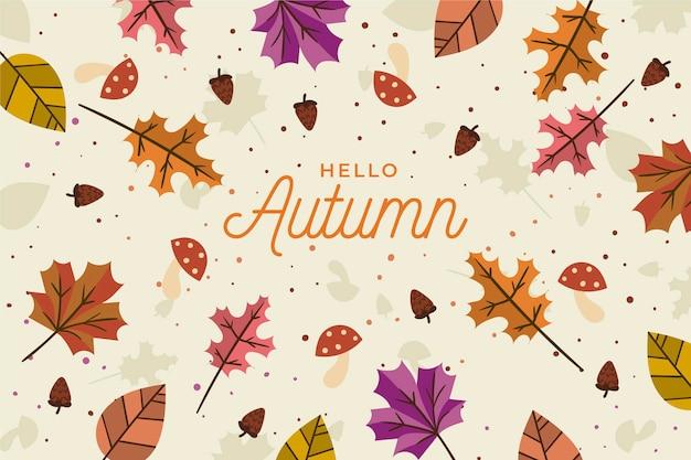 가을 벽지