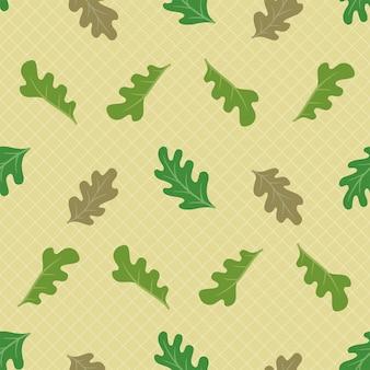 가 호두 나무 잎 원활한 패턴