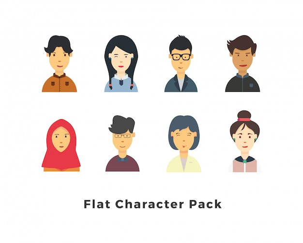 Avatar character pack
