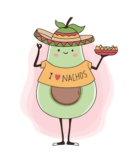 Авокадо и начо