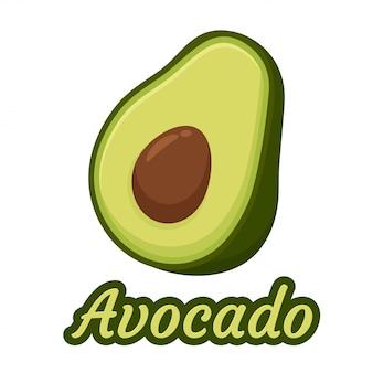 Авокадо иллюстрация