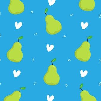 Авокадо узор фона