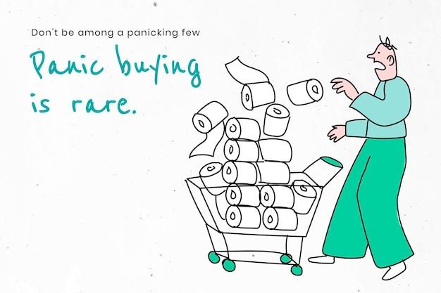 Избегайте панических покупок и накоплений. это изображение является частью нашего сотрудничества с командой по поведенческим наукам в hill + knowlton strategies, чтобы выявить, какие сообщения о covid-19 лучше всего находят отклик у общественности.