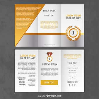 Awards flyer template
