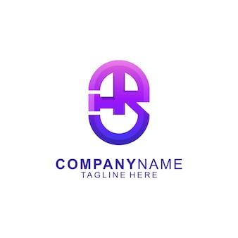 Удивительное абстрактное письмо trust premium logo vector