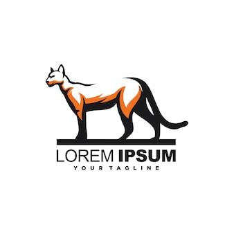 Awesome animal panther logo design