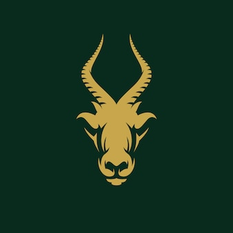 Awesome antelope design illustration