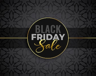 Awesome black friday sale background