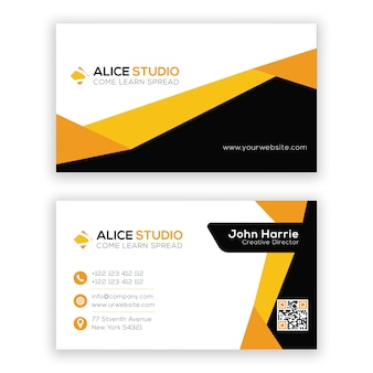 Awesome business card design template