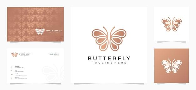 멋진 나비 로고